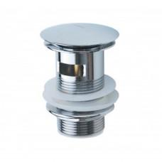 Нажимной донный клапан Haiba с переливом (C0A11)