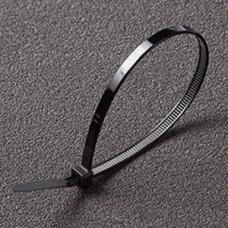 Хомут нейлоновый 7,6*400 черный Apro (пач. 30шт)