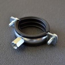 Хомут трубный APRO 20-24 мм (1/2'') М8/М10 с комб. гайкой