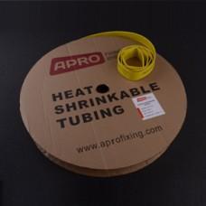 Термоусаживаемая трубка 10мм желтый 100м