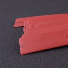 Термоусаживаемая трубка 10мм красный (пак 1м*20шт)