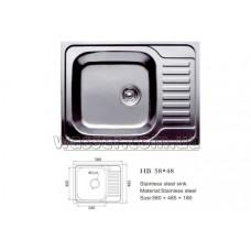Кухонная мойка Haiba 580X480 глянец