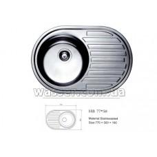 Кухонная мойка Haiba 770X500 микродекор