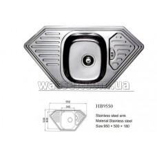 Кухонная мойка Haiba 950X500 микродекор