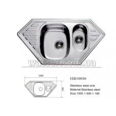 Кухонная мойка Haiba 1000X500 микродекор