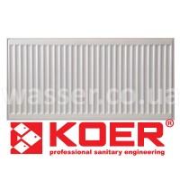 Стальной радиатор KOER 22 x 500 x 2000B