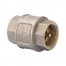 """KOER обратный клапан 1"""" никелированый KR.172.N"""