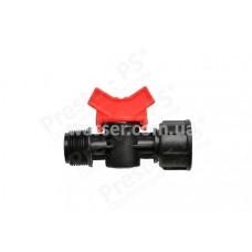 Кран с 1/2 наружной - 3/4 внутренней резьбой Presto-PS MF-011234