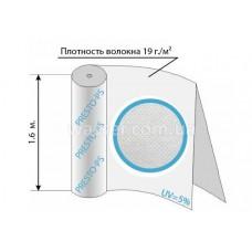Агроволокно белое 19уф ( 1,6*100м ) 19G/M