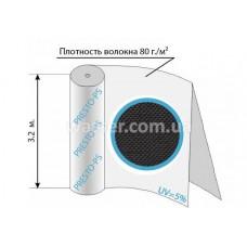 Агроволокно черное 80уф ( 3,2*100м ) 80G/M