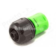 Конектор универсальный 1/2-5/8-3/4 для шланга Presto-PS RS 4134