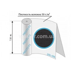 Агроволокно черное 50уф ( 1,6*100м ) 50G/M