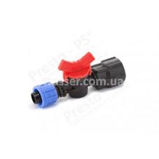 Кран для капельной ленты с 3/4 внутренней резьбой Presto-PS FL-011734