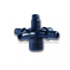 Стартер мини на 4 выхода для капельницы 4 мм Presto-PS 5135