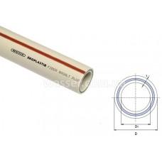 Труба Wavin Ekoplastik PP-r PN20 Fiber Basalt 20мм
