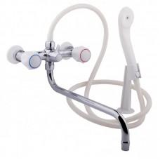 Ukrsanlit (СВ11У1Х222) Смеситель для ванны с механической кран-буксой