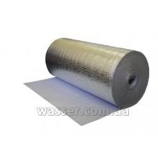 Подложка фольгированная под тёплый пол односторонняя (теплоизол) 10 мм
