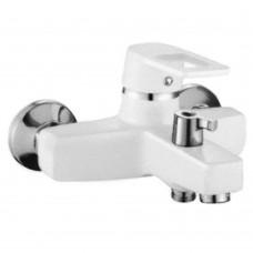 Смеситель Zerix Z3030-7 ванна короткая euro Белый